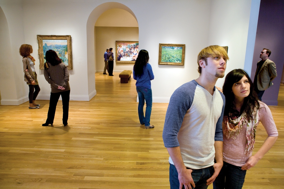 Visitors at The Phillips Collection