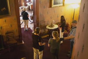 Visitors at Heurich House